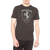 Puma Ferrari Shield Koszulka Szary XXL, kolor szary