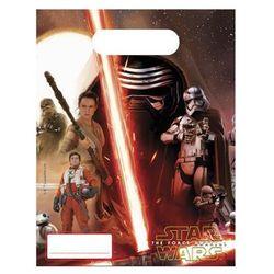 Procos Prezentowe torebki urodzinowe staw wars - the force awakens - 6 szt.