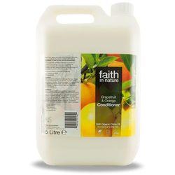 Faith in nature Organiczna odżywka do włosów z grejpfrutem i pomarańczą 5 litrów - faith in anture