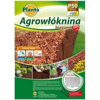 Planta Agrowłóknina 1.6x10m 50g brązowa - ściółkująca (p50br16x10)