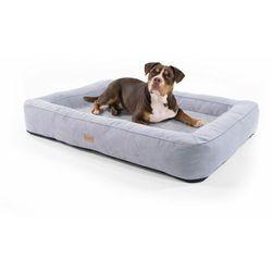 bruno, legowisko/kosz dla psa, możliwość prania, ortopedyczne, antypoślizgowe, oddychające, pianka z pamięcią kształtu, rozmiar xl (120 x 17 x 85 cm) marki Brunolie