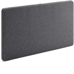 Ścienny panel dźwiękochłonny zip 1200x650 mm ciemnoszary czarny suwak marki Aj