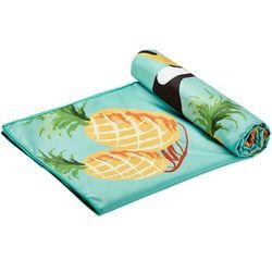 Campz ręcznik plażowy z mikrofibry 90x200cm, kolorowy 2021 ręczniki turystyczne