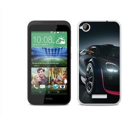 Foto Case - HTC Desire 320 - etui na telefon Foto Case - black car (Futerał telefoniczny)