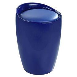 King home Stołek, puf tubo - - niebieski abs