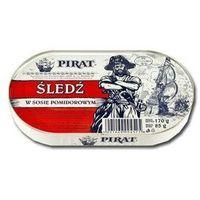 PIRAT 170g Śledź w sosie pomidorowym | DARMOWA DOSTAWA OD 150 ZŁ! - produkt z kategorii- Konserwy i przetwo