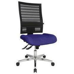 Krzesło obrotowe dla operatora,oparcie z siateczki, czarne