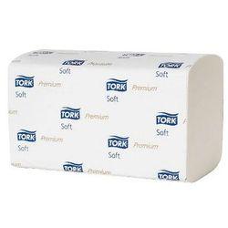 Tork Ręcznik w składce zz premium biały miękki