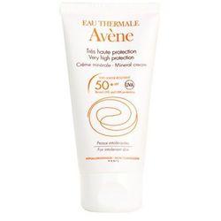 Avene  sun mineral krem ochronny do twarzy bez filtrów chemicznych, bezzapachowy spf 50+, kategoria: pozosta�