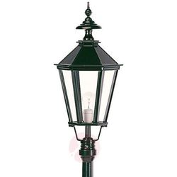 Piękna latarnia ogrodowa Dublin 1-punktowa, czarna (8714732503341)