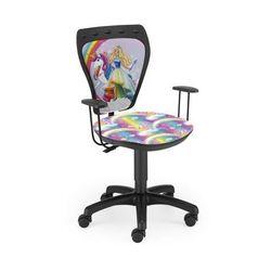 Nowy styl Krzesło dziecięce ministyle barbie unicorn bl