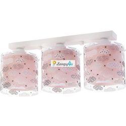 DALBER - Clouds Pink Listwa 3 x E 27 Nr. kat. 41413S z kategorii oświetlenie dla dzieci