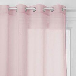 Atmosphera Poliestrowa firanka arno w gustownym kolorze różu