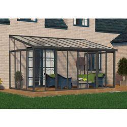 Ogród zimowy veranda sanremo 3 x 5,4 m szara marki Palram