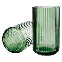 Wazon 15 cm transparentny zielony marki Lyngby