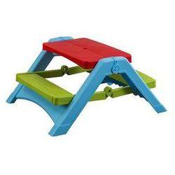 Marian plast Stolik dla dzieci z składaną ławą