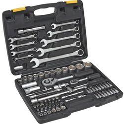Topex Zestaw kluczy nasadowych  1/4 i 1/2 cala 38d686 (82 elementy)