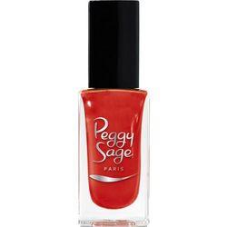 PEGGY SAGE - Lakier do paznokci blazing red 733 -11ml - ( ref. 100733) z kategorii Pozostała moda i styl