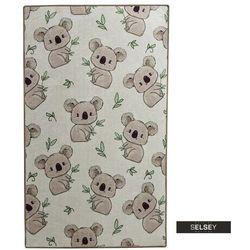 SELSEY Dywan do pokoju dziecięcego Dinkley Koala 140x190 cm (5903025555331)