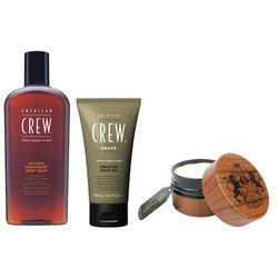 Zestaw dla go: żel pod prysznic 450ml + żel do golenia 150ml + krem do stylizacji 100ml od producent