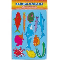 Niebieski szablon ryby z kategorii artykuły szkolne i plastyczne