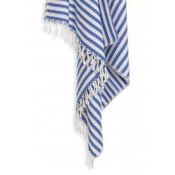 Sauna łażnia - hammam ręcznik bawełna/bambus zebra 10 morski marki Import