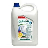 LUDWIK 5kg Płyn do mycia naczyń cytrynowy antybakteryjny