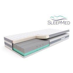 SLEEPMED COMFORT - materac termoelastyczny, piankowy, Rozmiar - 90x200 WYPRZEDAŻ, WYSYŁKA GRATIS (5901595011448)
