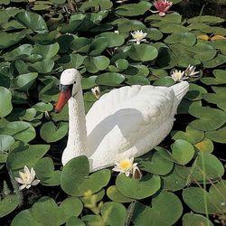 Ubbink Plastikowa ozdoba do ogrodowego oczka wodnego – biały łabędź (8711465325028)
