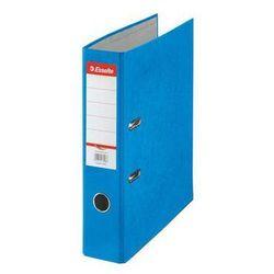 Esselte segregator a4 rainbow z mechanizmem dźwigniowym 75mm, niebieski