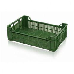 Skrzynka plastikowa na warzywa, z otworami, 600x400x172 mm marki B2b partner