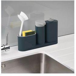 Zestaw 3 akcesoriów do zmywania SinkBase Joseph Joseph szary ODBIERZ RABAT 5% NA PIERWSZE ZAKUPY