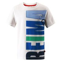 Reima T-shirt koszulka z krótkim rękawem  haileri biało/niebieska