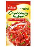 Kisiel DELECTA owocowy kubek 30g - truskawka