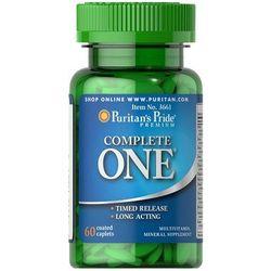 Puritan's Pride Complete One Multiwitamina 60 tabl. - tabletki witaminy i minerały
