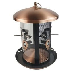 Karmnik metalowy okrągły