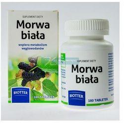 Morwa biała BIOTTER tabl.powl. 0,12 g 180 tabl., produkt z kategorii- Preparaty na poziom cukru