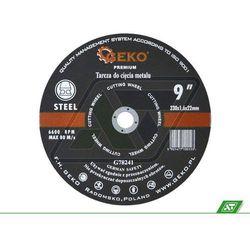 Tarcza do metalu Geko 230x1.6x22 G78241 - sprawdź w wybranym sklepie