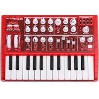 microbrute red (edycja limitowana ) syntezator analogowy marki Arturia