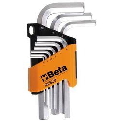 Beta tools zestaw 9 kluczy sześciokątnych 96/sc9, stal, 000960374