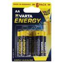 Varta energy baterie aa 6x + bezpłatna natychmiastowa gwarancja wymiany!