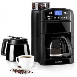 Klarstein Aromatica Set zestaw ekspres do kawy młynek szklany dzbanek termos czarny (4260509687416)
