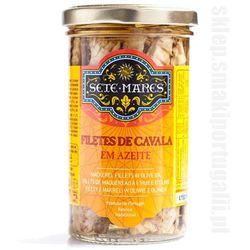 Filety z makreli w oliwie z oliwek 250g Sete Mares z kategorii Konserwy i przetwory rybne