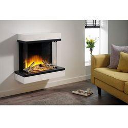 Kominek do montażu ściennego flamerite fires exo 600. efekt płomienia radia flame led - promocja marki Flamerite fires - nowość 2021