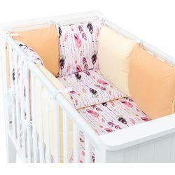 14-el pościel do łóżeczka z ochraniaczem modułowym - zestaw 55 marki Mamo-tato