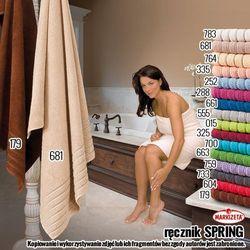 Recznik spring kolor bordowy spring/rba/325/050090/1 marki Markizeta