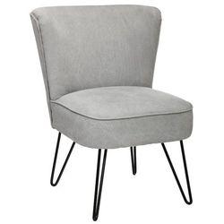 Fotel z oparciem SVEN - kolor jasny szary