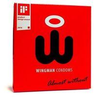 Prezerwatywy z aplikatorem - Wingman Condoms 3 sztuki