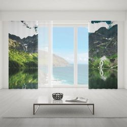 Zasłona okienna na wymiar komplet - GREAT MOUNTAINS