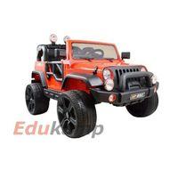 Mega jeep perfect 002 exclusive, wolny start/ miękkie koła hp-002 marki Tima